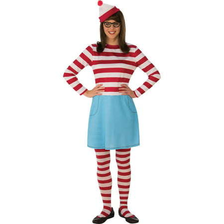 Where's Waldo Womens Wenda Halloween Costume