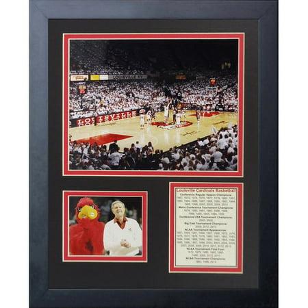 Legends Never Die Louisville Cardinals   Kfc Yum  Center Framed Memorabilia