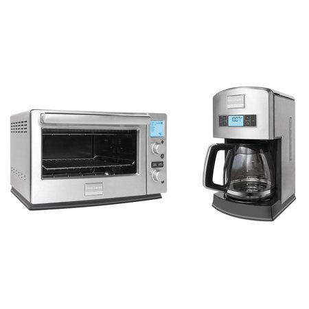 Frigidaire 6 Slice Stainless Convection Toaster Oven + 12-Cup Drip ...