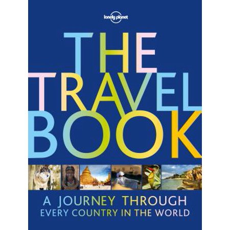 Lonely planet travel book: the travel book - hardcover: