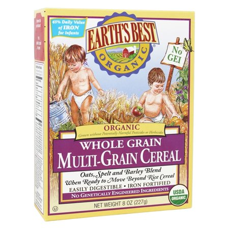 Earth's Best: Organic Whole Grain Multi-Grain Cereal, 8 oz