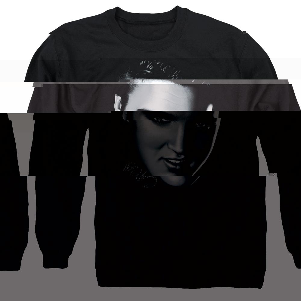 Framed Adult Crewneck Sweatshirt Elvis