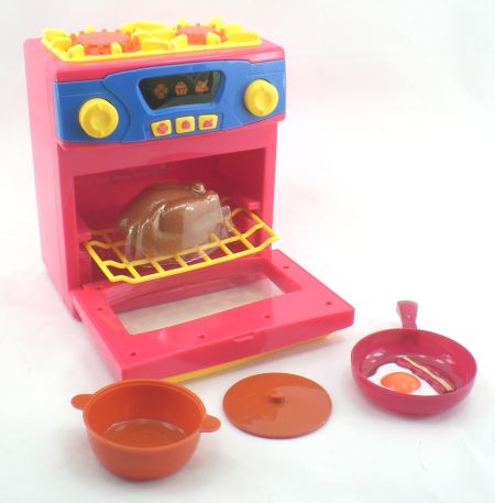 Toy Oven And Stove Top Play Set - image 1 of 1