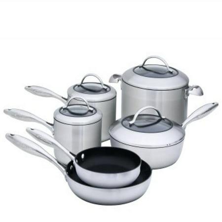 Scanpan CTX 10-Piece Deluxe Set (Best Price Scanpan Cookware)