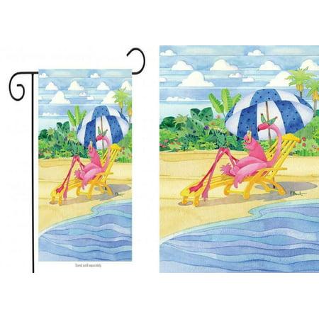 Briarwood Lane Flamingo Inn Summer Garden Flag Beach Scene Humor Cocktails... Briarwood Lane Flamingo Inn Summer Garden Flag Beach Scene Humor Cocktails...  condition: New Package Dimensions: 13 x 3.5 x 0.2 inchesItem Weight: 1 poundsManufacturer: Briarwood LaneBrand: Briarwood LaneMPN: NA
