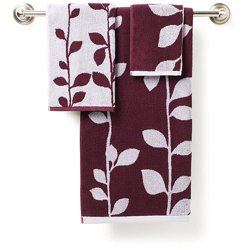 Hometrends Ashdown 3-Piece Towel Set by Jay Franco