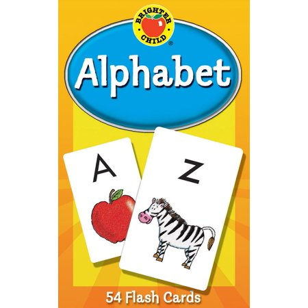 Alphabet Flash Cards (Paperback) - Alphabet Flash Cards