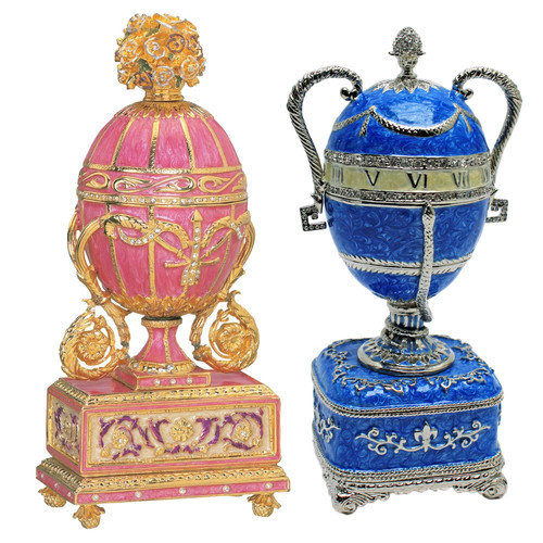Design Toscano The St. Petersburg Imperial Enameled Egg Collection