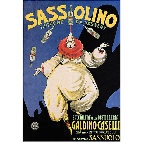 "Trademark Fine Art ""Sassolino"" Canvas Art, 24x32"