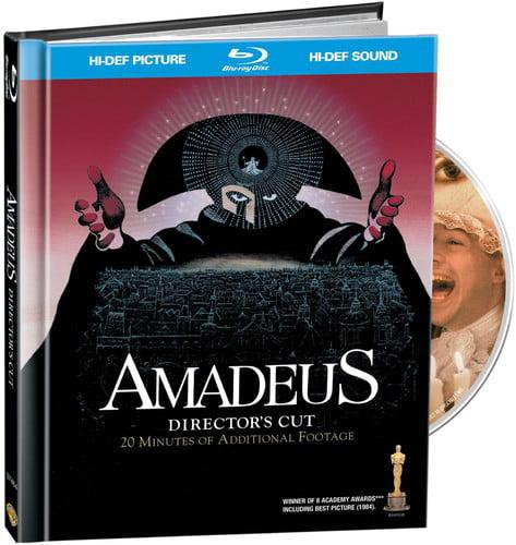 Amadeus (Digibook) (Blu-ray + CD + Digital Copy)
