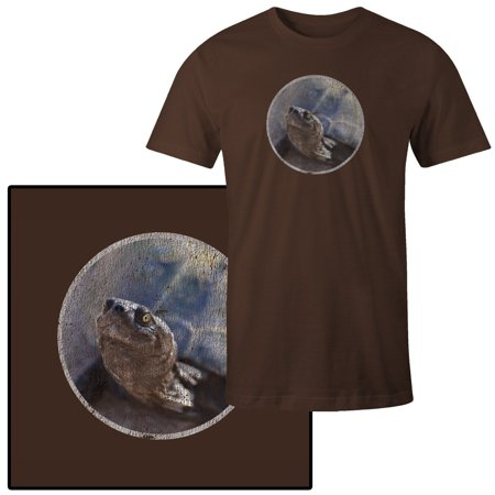 - Men's Smiling Turtle Photograph Terrapin T-Shirt