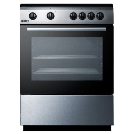 "Summit CLRE24 24"" Wide 2.4 Cu. Ft. Capacity Free Standing Electric Range with Storage Drawer"