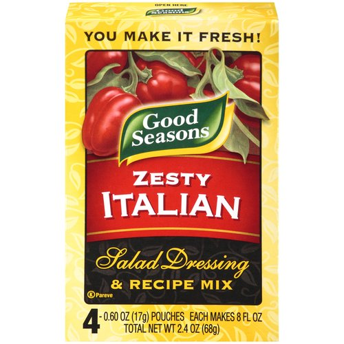 Good Seasons Zesty Italian Salad Dressing ; Recipe Mix, 2.4 oz