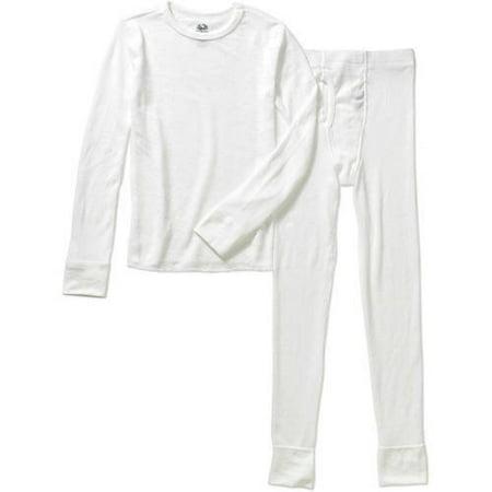 Boys Soft Waffle Thermal Underwear Set