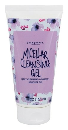 Micellar Facial Cleansing & Makeup Remover Gel - 5 fl. oz. by Jean Pierre (pack of 1) CosMedix Benefit Clean (100 ml)