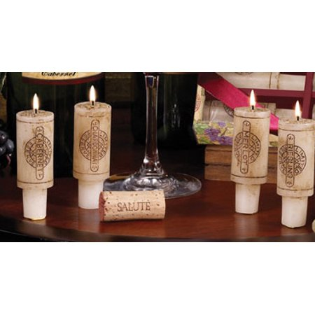Merlot Wine Scented Candles (Set of 6 Wine Country Merlot Scented Cork)