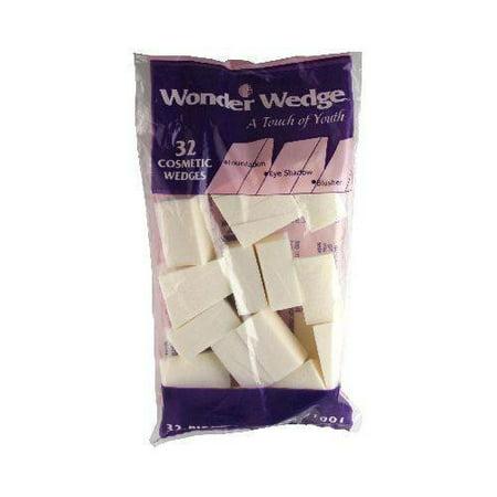 Wonder Wdege Cosmetic Wedges 32 ea (Pack of 1)