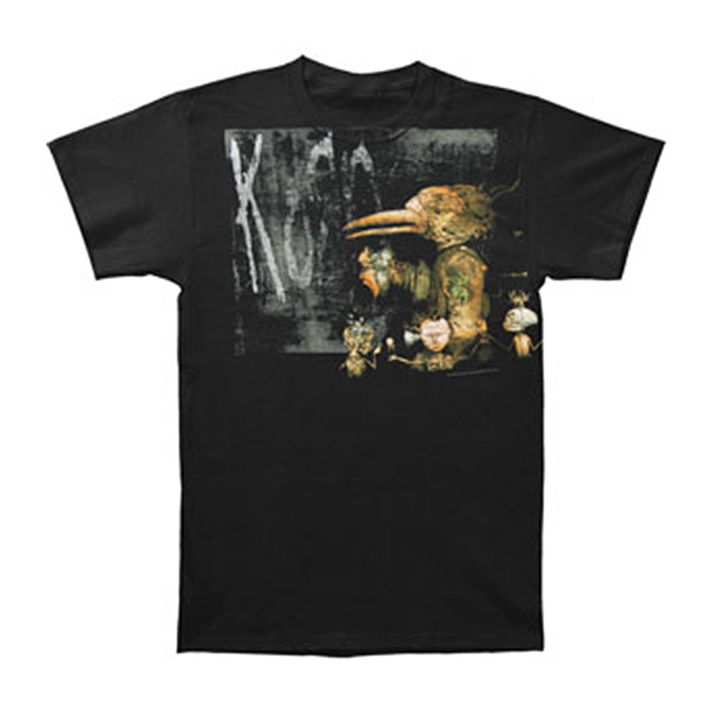 Korn Men's  Crow T-shirt Black