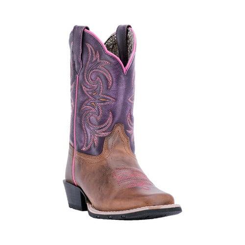 Children's Dan Post Boots Majesty Broad Square Cowboy Boot DPC3947 by Dan Post
