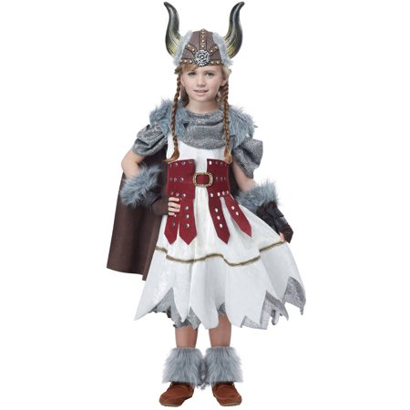 Viking Girl Child Halloween Costume - Costumes Vikings