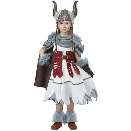 Viking Girl Child Halloween Costume](Viking Halloween Costumes Kids)