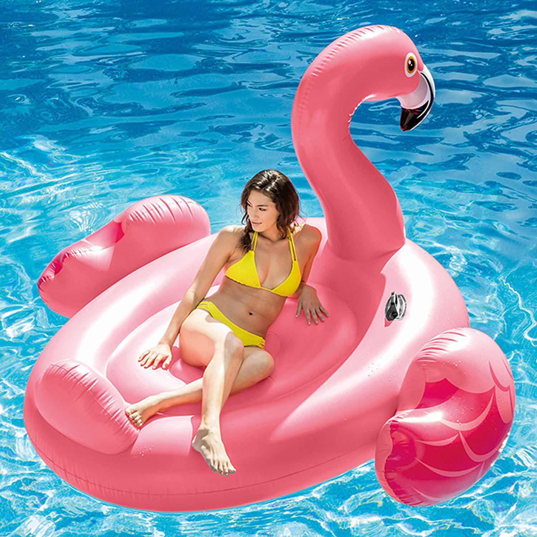 """Intex Inflatable Mega Flamingo Island Float, 86"""" x 83"""" x 53.5"""""""
