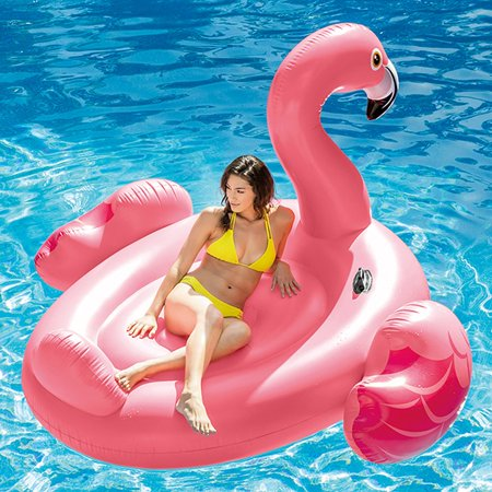 Intex Inflatable Mega Flamingo Island Float, 86