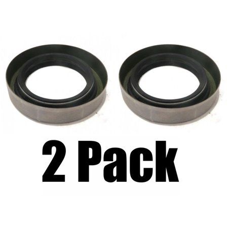 (2) New GREASE SEALS Double Lip 1.719