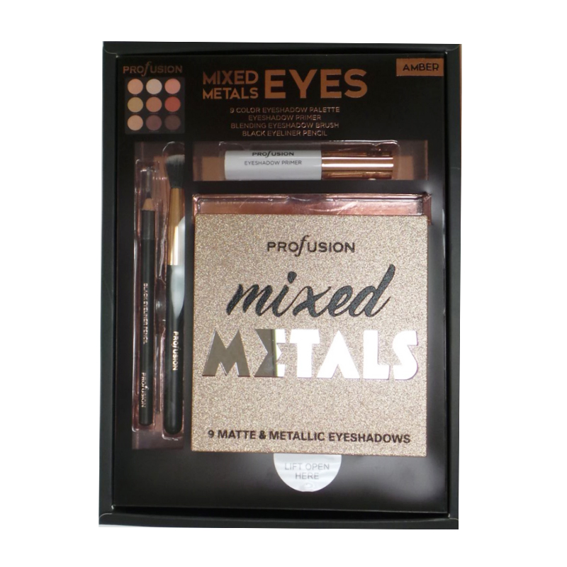 PROFUSION Mixed Metals & Eyes Palette - Amber - image 1 de 1