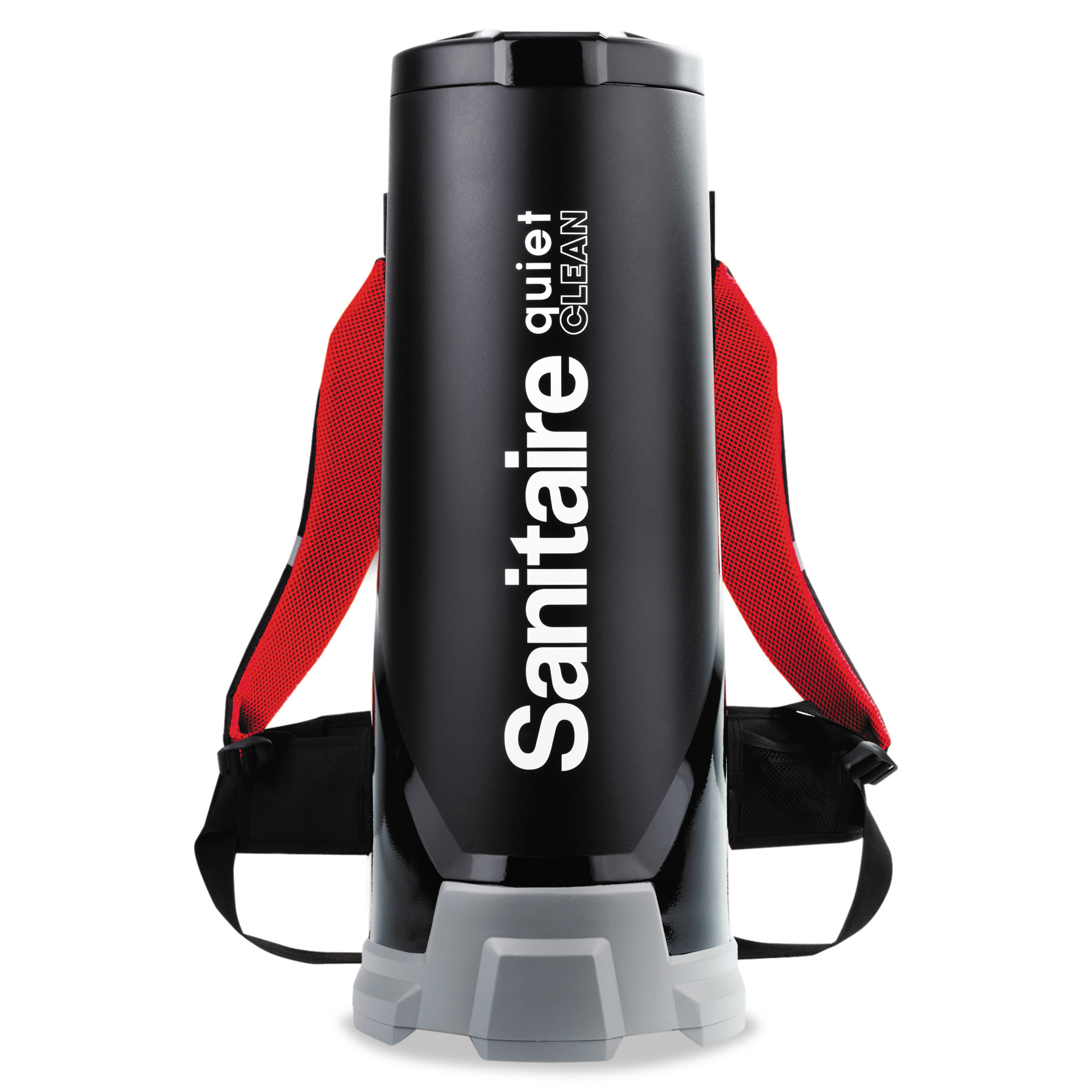 Sanitaire Quiet Clean HEPA Backpack Vac,10qt, Black