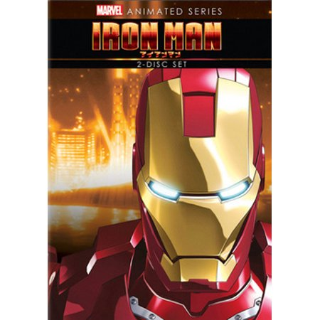 Marvel Animated Series: Iron Man (DVD)