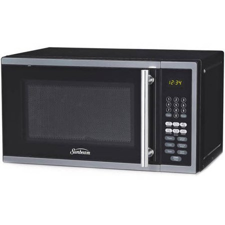 Sunbeam 0.7 Cu. Ft. Digital Microwave, Stainless