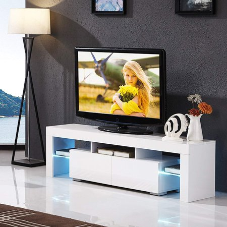 Nordic Modern LED TV Stand Home Living Room TV Cabinet High ...