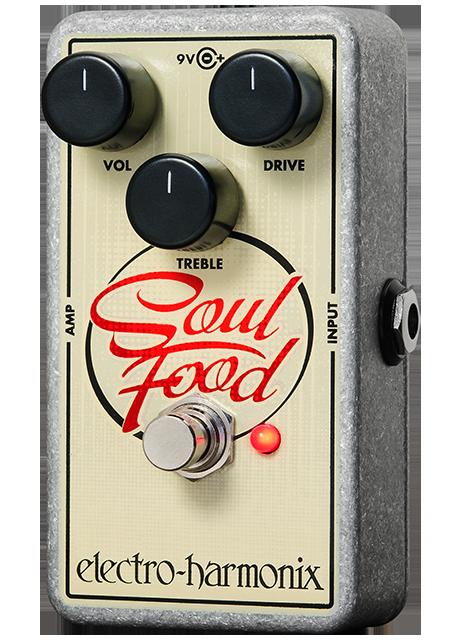 Electro Harmonix Soul Food Overdrive Pedal by ELECTRO HARMONIX