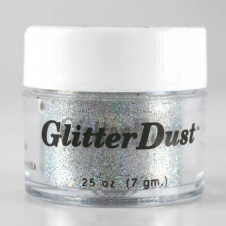 Mehron Glitter Dust - Holographic Silver (0.25 oz)](Glitter Silver)