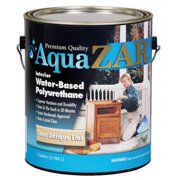United Gilsonite 34413 1 Gallon Clear Antique Flat Aqua Zar Based Polyurethane 2 pack Pack Of 2