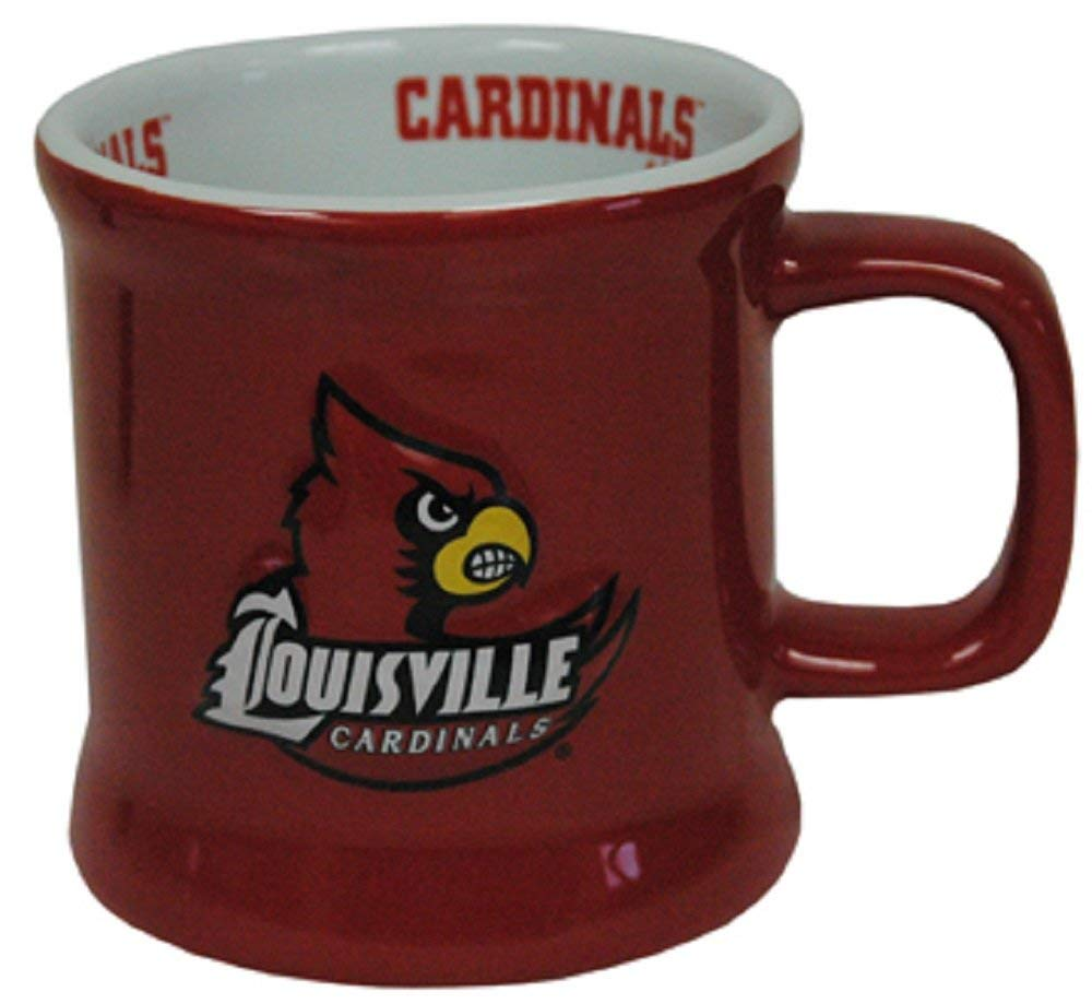 Louisville Cardinals Ceramic Relief Mug
