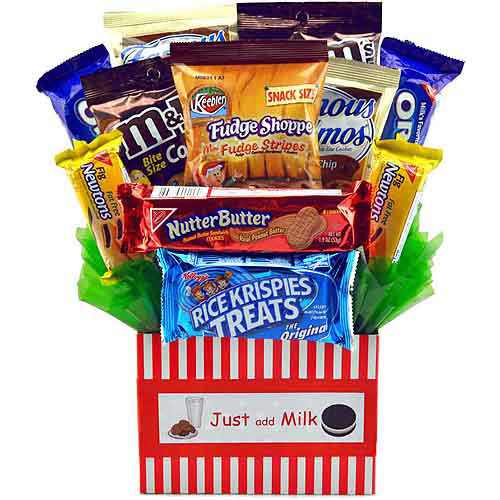 Sweets In Bloom Just Add Milk Cookie Gift Basket