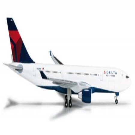 HE524254 Herpa Wings Delta Airlines A330-200 N861NW Model Airplane