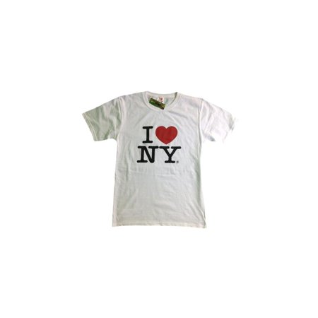 I Love Ny White T Shirt Official Tee New York Screen Printed Heart