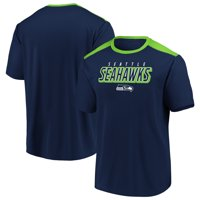 Men's Fanatics Branded College Navy/Neon Green Seattle Seahawks Tactical Stunt T-Shirt
