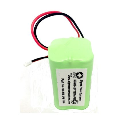 SPS Brand 4.8V 1800mAh Replacement Battery for Summer Baby Monitor HK1100AAE4BMJS (1 Pack)