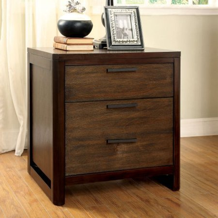 Furniture of America Sophie 3 Drawer Nightstand