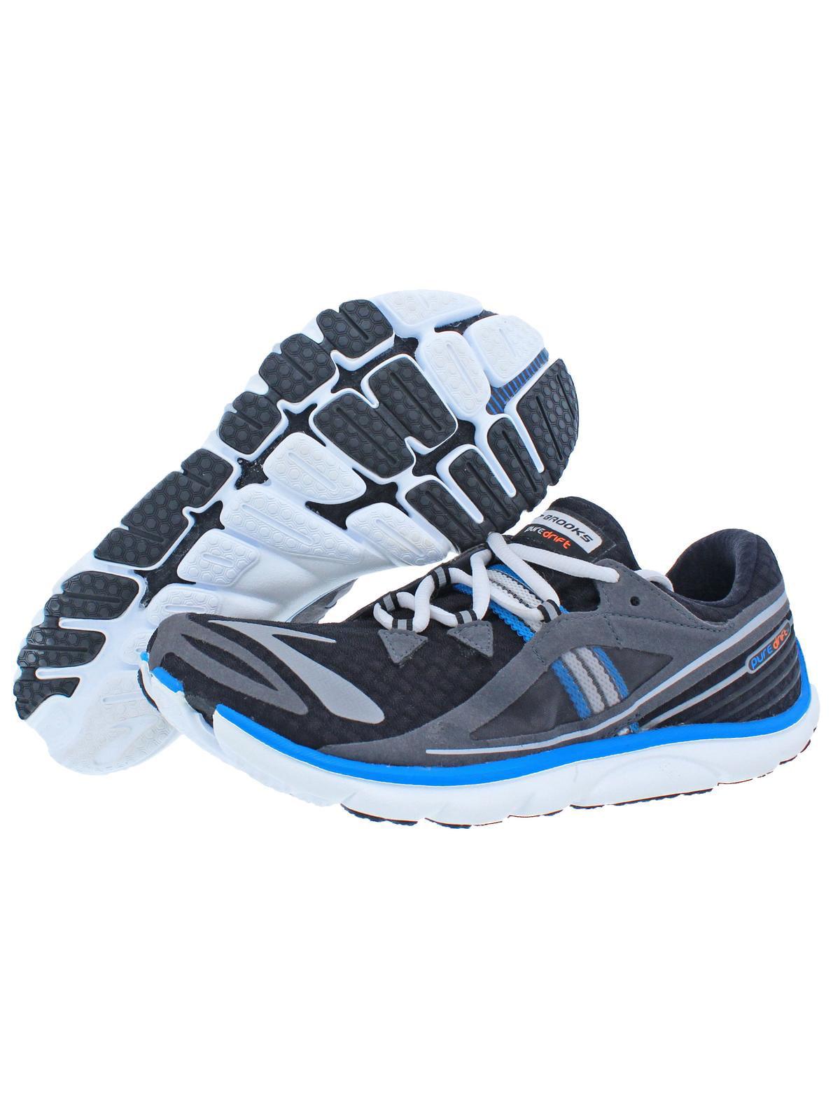 Brooks Mens Puredrift Athletic Running Running Shoes Black 7.5 Medium (D)