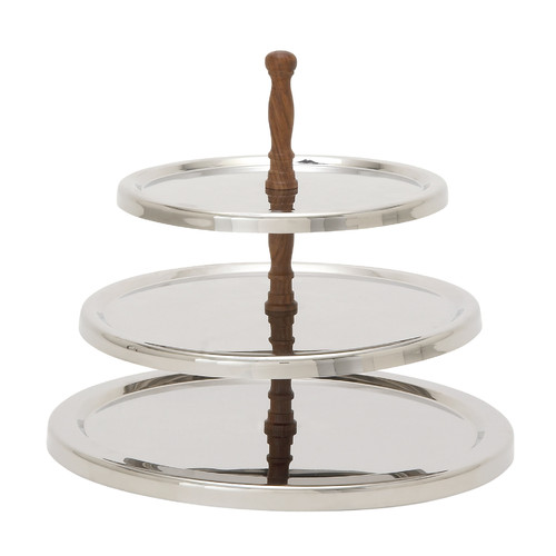 Woodland Imports 3 Tier Serving Tray by Overstock