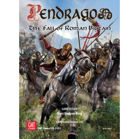 GMT Pendragon Board Game: The Fall of Roman Britain (Halloween Games For A Fall Festival)