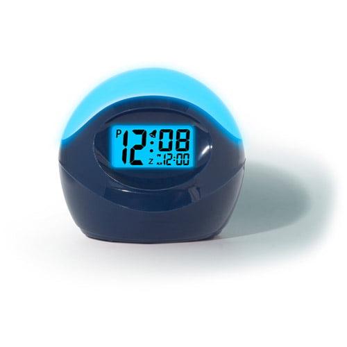 Timelink Color Changing Alarm Clock, Timelink Led Alarm Clock With Multi Color Display