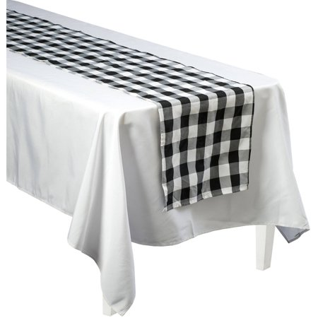 Generic Black and White Gingham 90