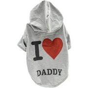 Stellar Pet Boutique I Love My Daddy Hoodie