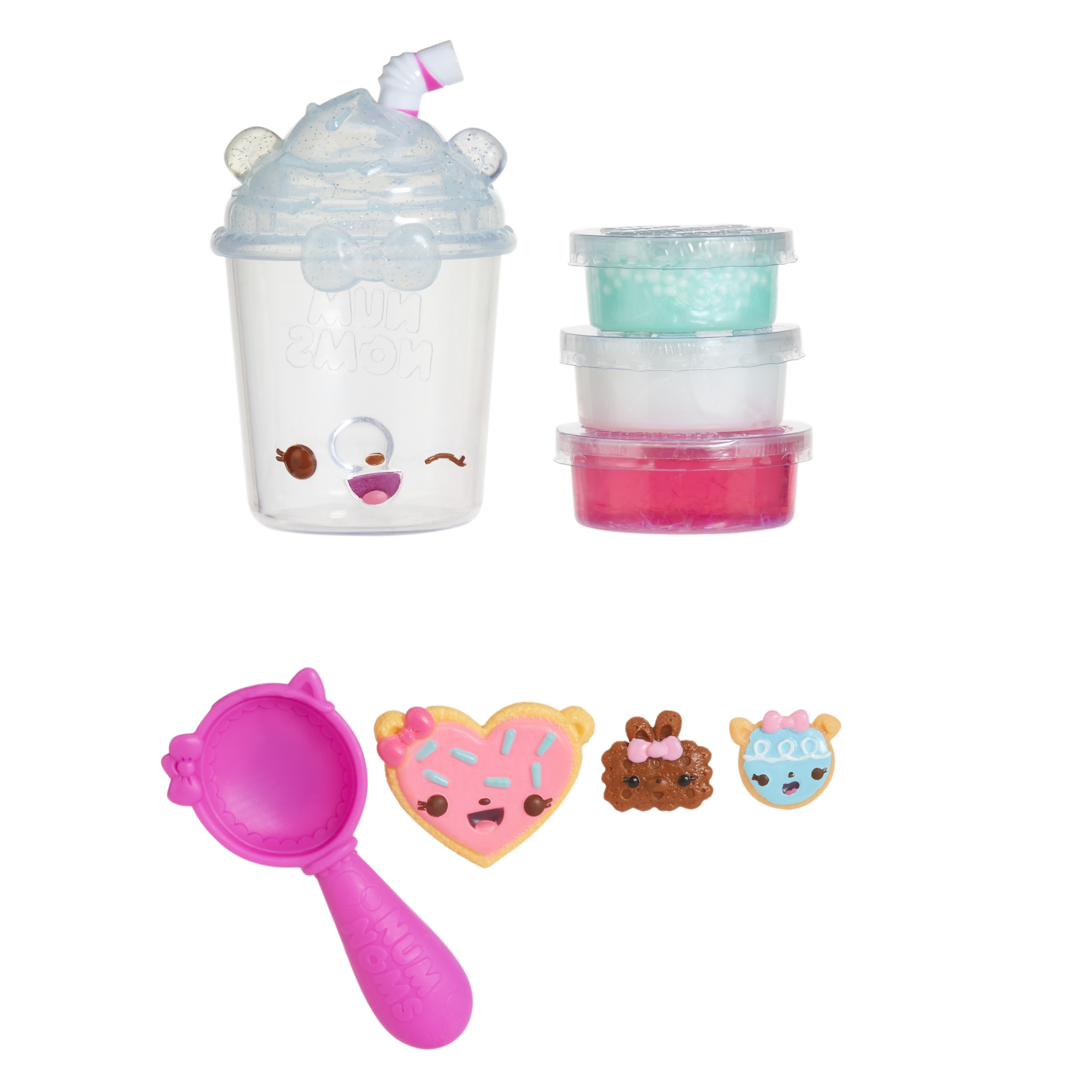 Num Noms Snackables Silly Shakes- Blueberry Mint Smoothie